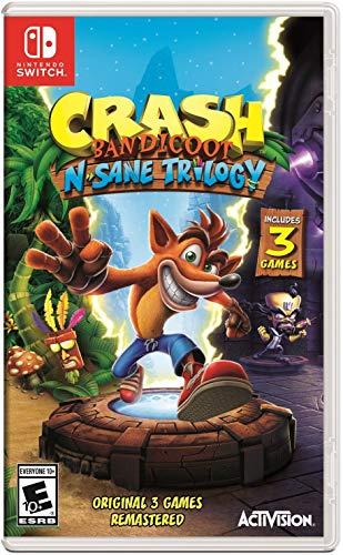 Crash Bandicoot N. Sane Trilogy (Switch) für 18,22€ (Amazon US)