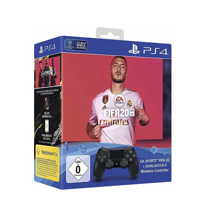 Dual Shock 4 V2 + FIFA 20 Amazon Frankreich