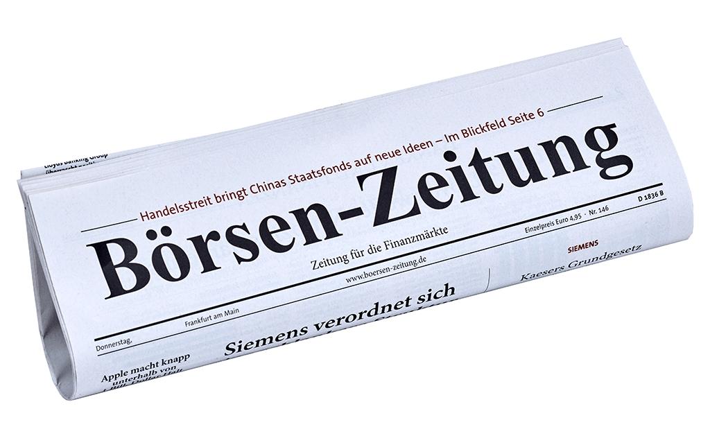 Black Days bei der Börsen-Zeitung