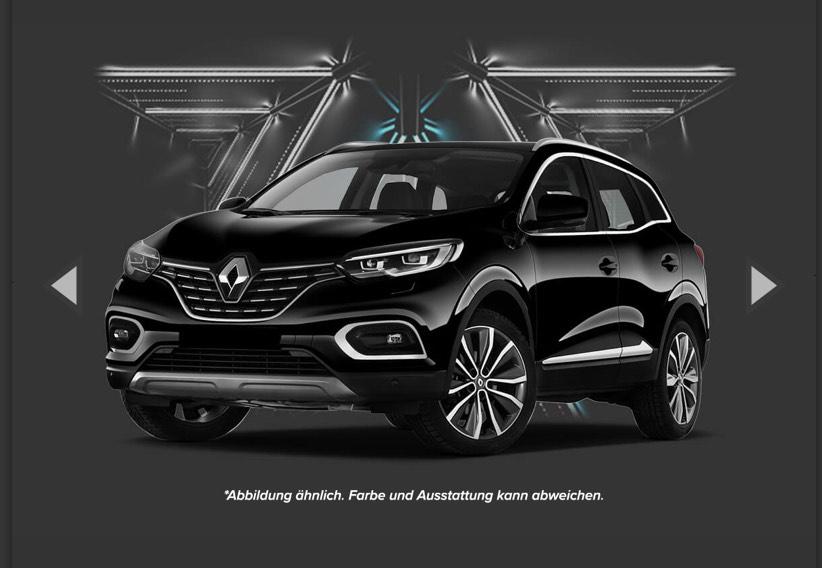 Gewerbeleasing: Renault Kadjar Life ENERGY TCe 140 GPF *Black Leasing Week Angebot* 55€ netto (Jahreswagen)
