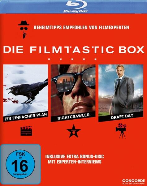 Die Filmtastic Box (3 Movie-Set) (4 Discs Blu-ray) für 8,47€ (Thalia)