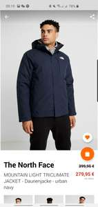 The north face mountain light triclimate Jacke Gore Tex