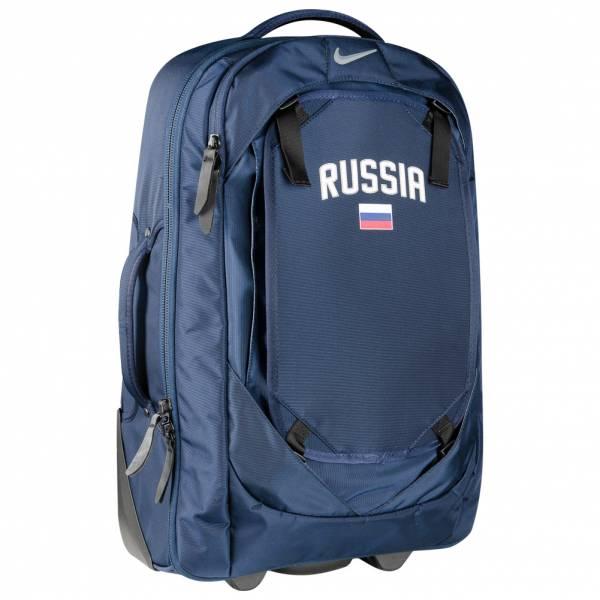 """Nike Rollkoffer """"Team Cabin Trolley Russia"""" für 15,15€ + 3,95€ VSK (56 x 35 x 15 cm, Mit Gummirollen und Teleskopgriff) [SPORTSPAR]"""