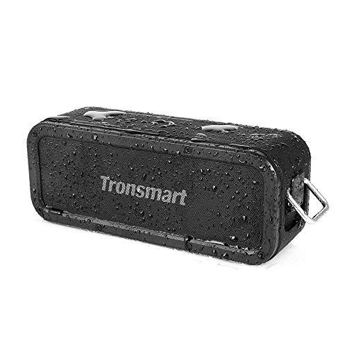 Bluetooth-Lautsprecher Tronsmart Element Force (40W, Bluetooth 5.0, NFC, AUX, microSD, USB-C, Stereo-Kopplung, 6600mAh für ~15h, IPX7)