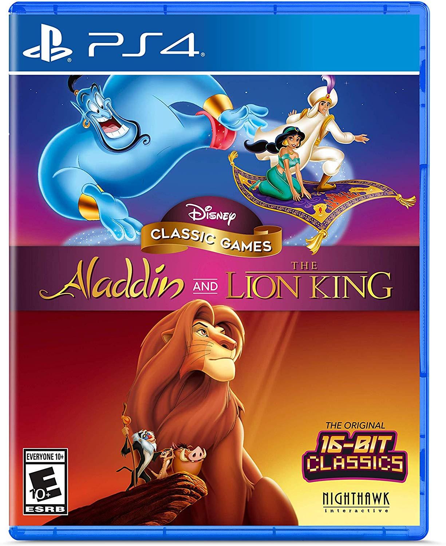 Disney Classic Games: Aladdin and The Lion King (PS4 & Xbox One) für je 18,50€ & (Switch) für 22,80€ (Amazon US)