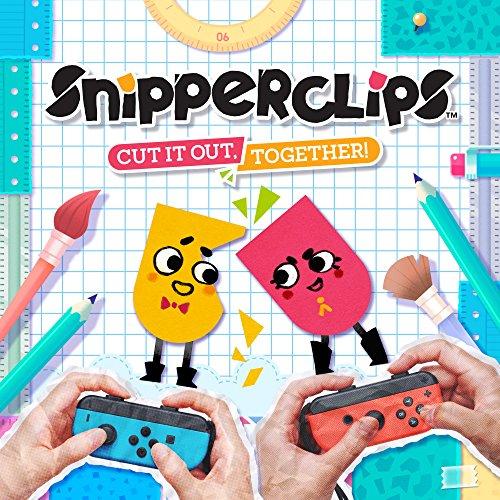 Snipperclips - Zusammen schneidet man am besten ab (Switch Download Code) für 9,08€ (Amazon US)
