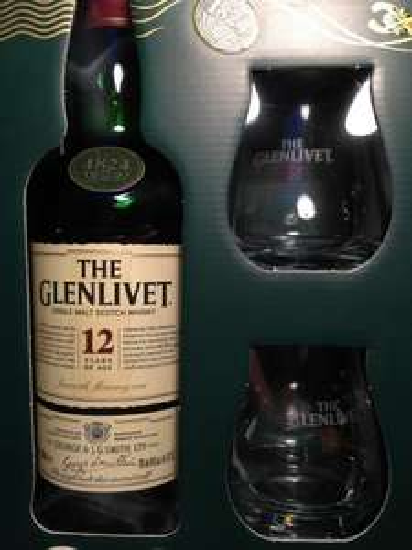[Lokal Real Darmstadt] Glenlivet 12 Years + 2 Gläser 22,99€