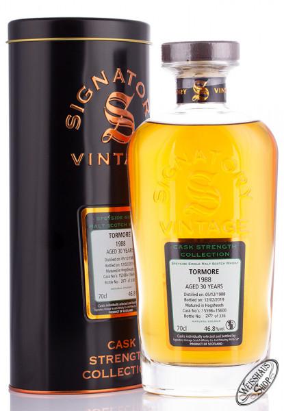 [Weisshaus Shop] Tormore 1988/2019 SV Single Malt Whisky mit 46,8%vol. NUR 336Fl. weltweit!