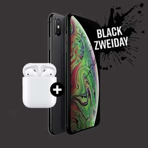 [SMARTPHONE ONLY] iPhone XS 64GB + Apple AirPods 2 [35€/Monat, 0€ einmalig, 0€ Versand]