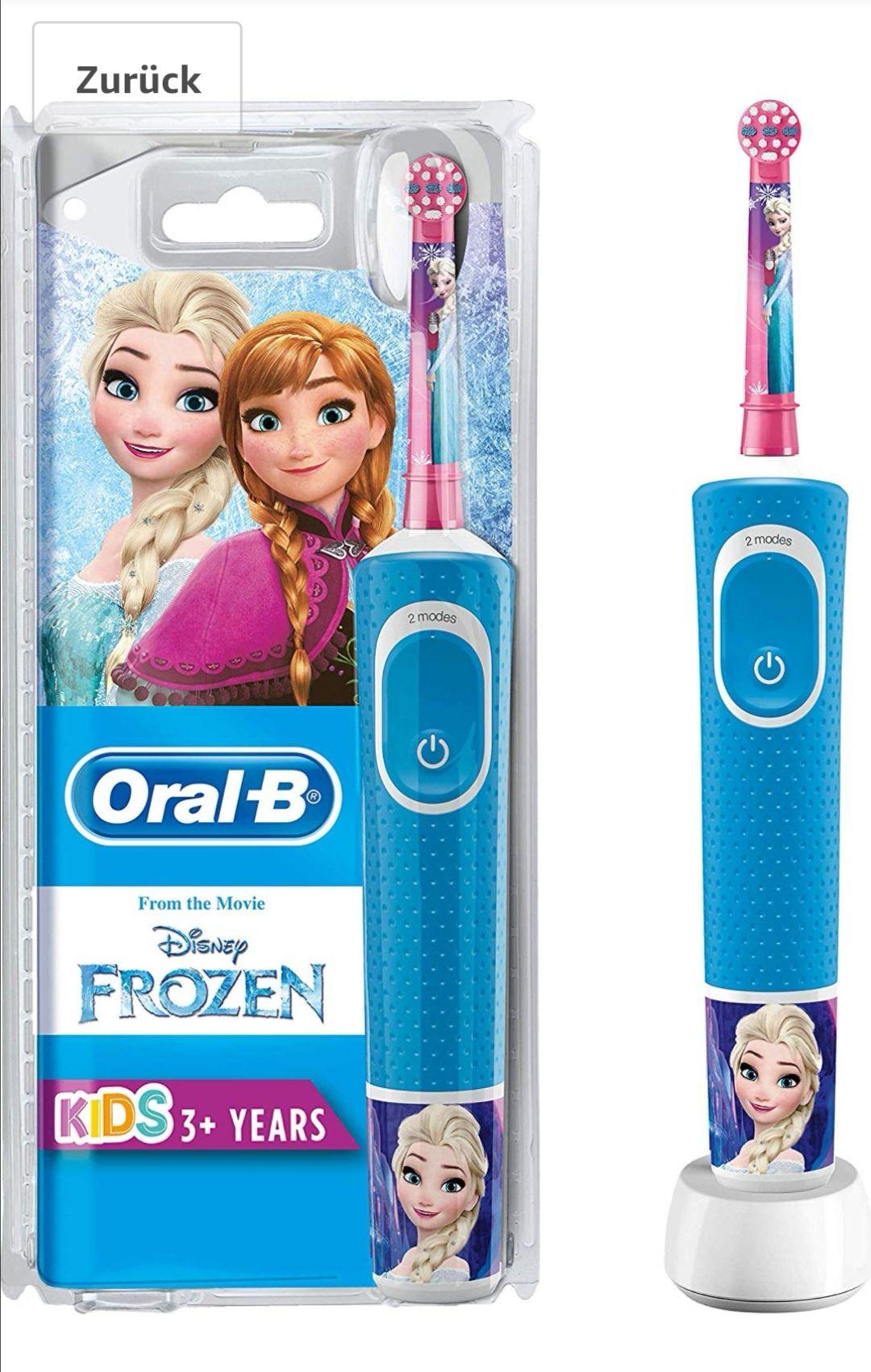 Oral B Zahnbürste ab 3 Jahre Disney verschiedene Motive [Amazon]
