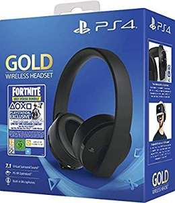 Sony PlayStation Gold Wireless HeadsetFortnite Neo Versa Bundle [Amazon.co.uk]