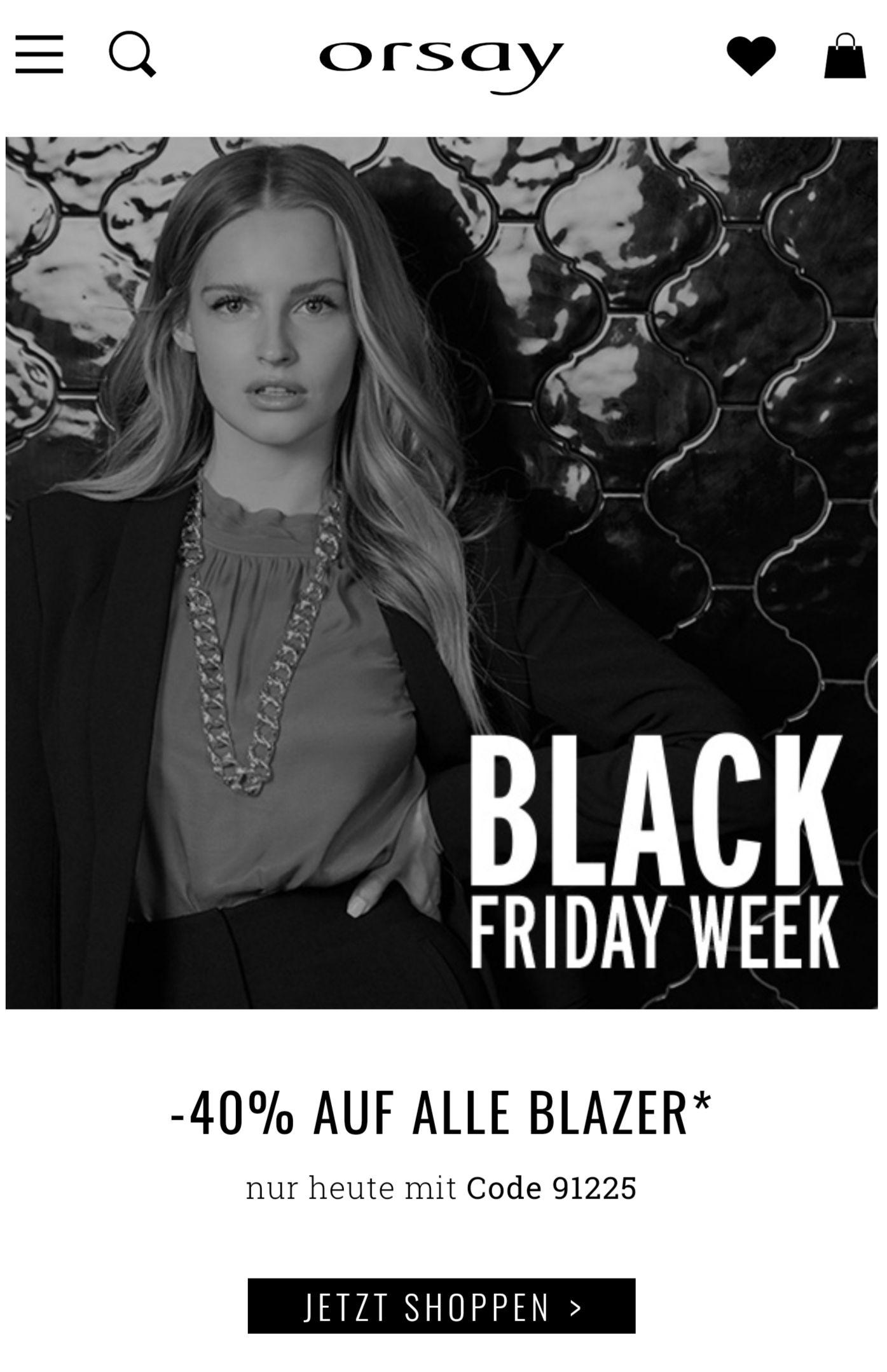 Orsay: 40% Rabatt auf Blazer
