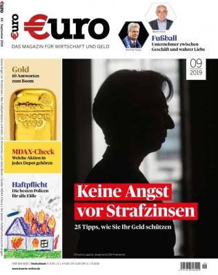 (Abofreude) Zeitschrift EURO für 96€ mit 100€ Bestchoice Universalgutschein als Prämie