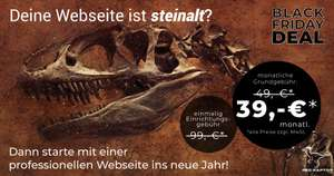 Red Raptor Page, All-inclusive Website, 39,00 € zzgl. Mwst. monatlich