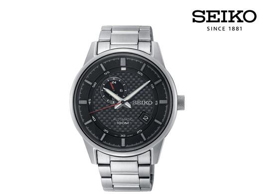 """SEIKO Herren-Automatikuhr """"SSA381P1"""" (42 mm, Edelstahl-Gehäuse und Armband, Mit Datumsanzeige) [iBOOD]"""