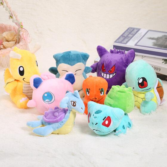 Verschiedene Pokemon Stofftiere für 61 Cent inkl. Versand