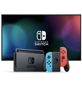 Nintendo Switch Konsole - Neon-Rot/Neon-Blau (2019 Edition) - Amazon.de