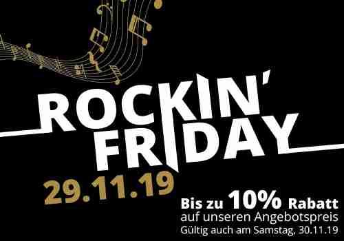 """Musik Wittl 10% Gutschein """"Rockin Friday"""" - Gitarre, Klavier, Akkordeon, Blasinstrumente uvm."""