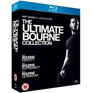 The Ultimate Bourne Collection Blu-ray nochmals günstiger ca. 11.00 EURO @ ZAVVI