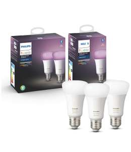Philips Hue E27 White and Color Ambience 3er Pack Bluetooth Version
