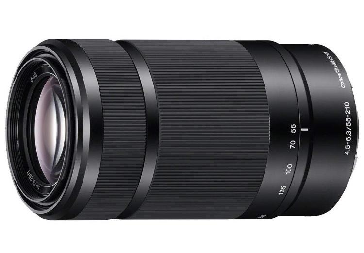 Sony SEL-55210 Tele-Zoom-Objektiv + 50€ Amazon Gutschein