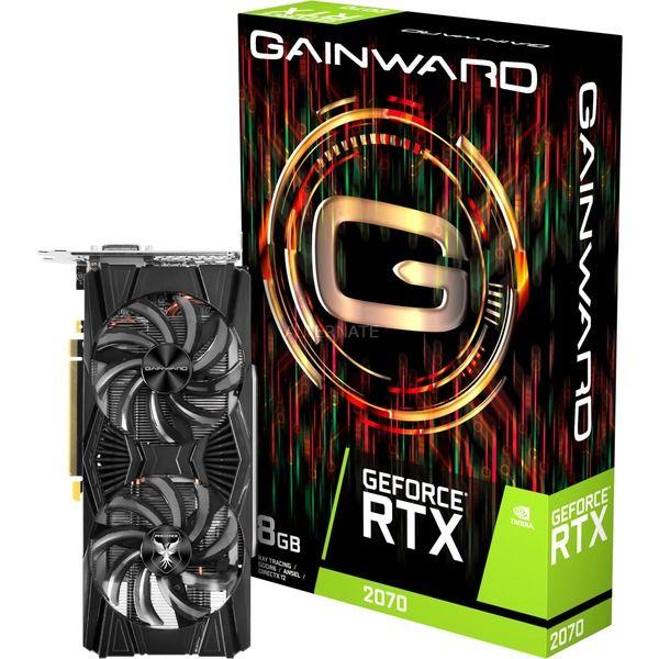 GainwardGeForce RTX 2070 Grafikkarte bei Alternate für 399€ mit Paydirekt nur 389€