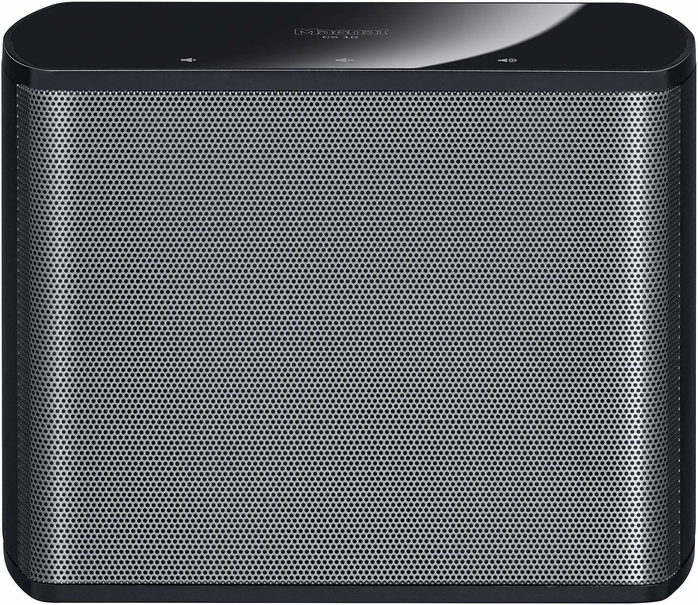 Magnat CS10: WLAN-Lautsprecher (Multiroom, Akku, AUX/LAN, 2,5cm Hochtöner, 12cm Breitband)