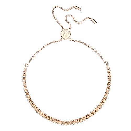 Swarovski Damen Subtle Armband für Frauen, Kristall,rosé-gold