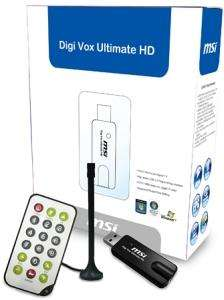Refurbished - MSI Digi Vox Ultimate HD (DVB-T) für 5,90€ + 2,90€ Versand im dealclub