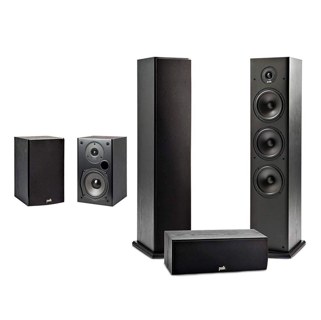 Polk T-Serie Lautsprecher-Set für Heimkino und Musik