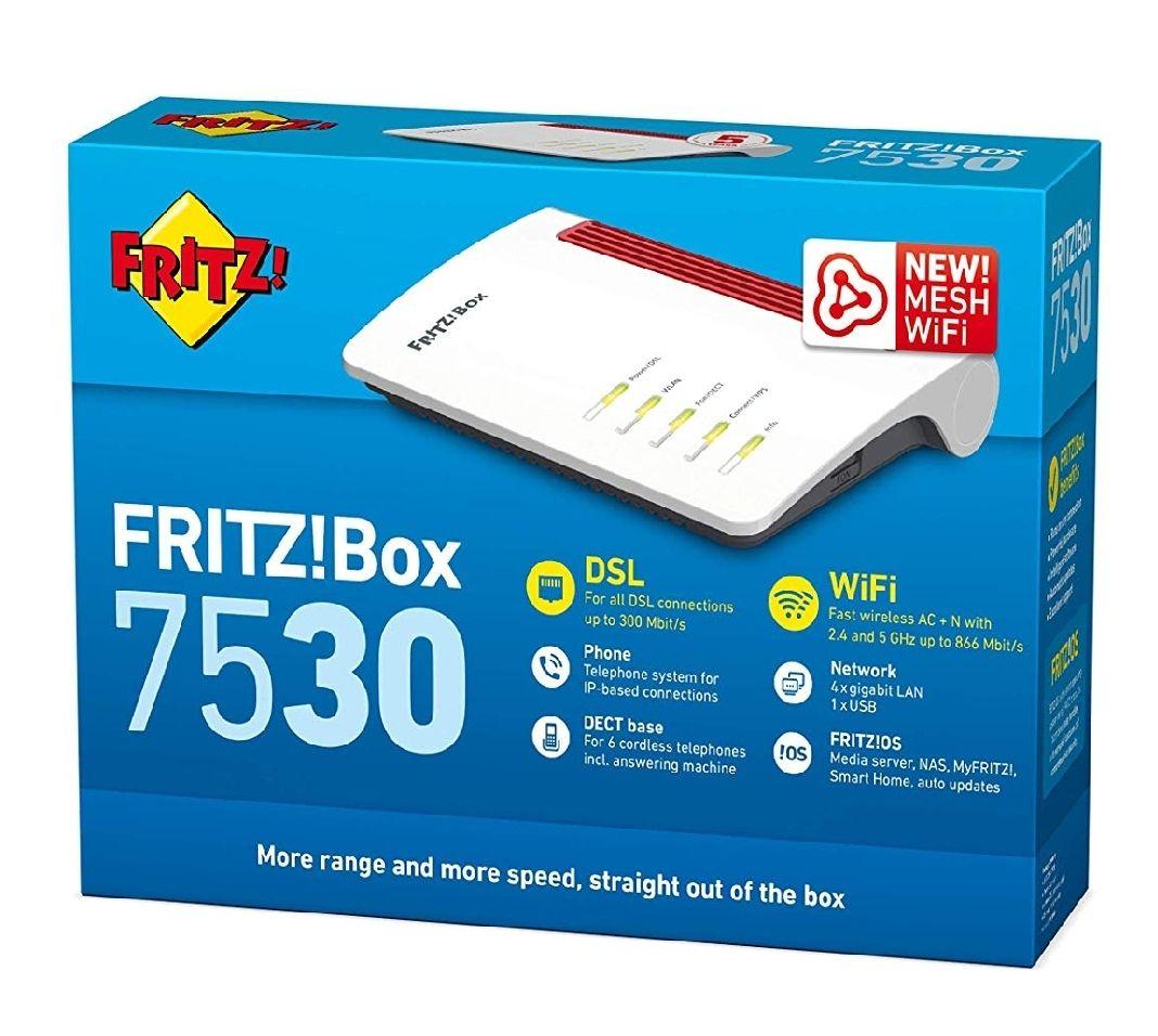 Fritzbox 7530 bei Amazon Italien für 85,99