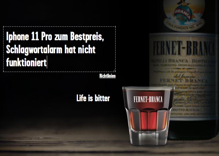 Fernet Branca Kräuterlikör 39 Vol. % 0,7-l-Fl. KAUFLAND 9,99€ bundesweit