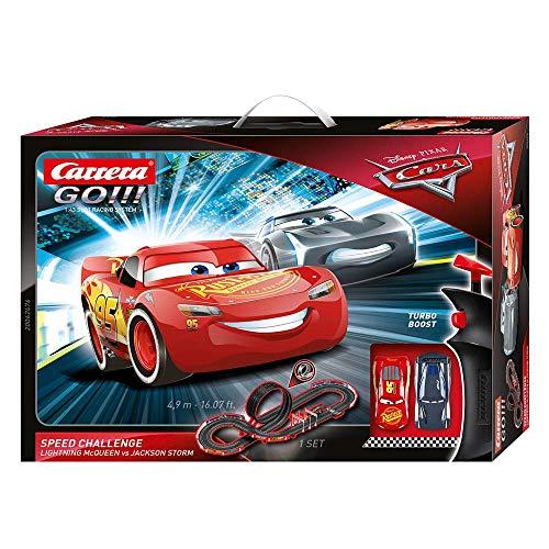 Carrera Disney Pixar Cars Speed Challenge Autorennbahn Set