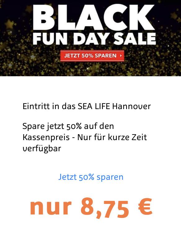 Eintritt Sea Life Hannover