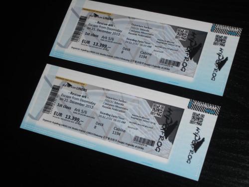 2x exklusives VIP Ticket für Rettungs-Arche