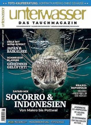 (Sammeldeal) Zeitschriftenabo mit 15,- € Rabatt auf die Kosten (Unterwasser // 72,60€ + 75 € BC-Gutschein, Stern, Capital)