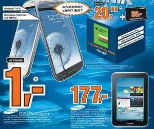 [Lokal] Samsung Galaxy S3 + Flat Light (24x20,90)+ Saturn-Gutschein