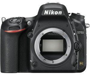 NIKON D750 Body Spiegelreflexkamera, 24.3 Megapixel, WLAN, Schwarz [Mediamarkt Abholung]
