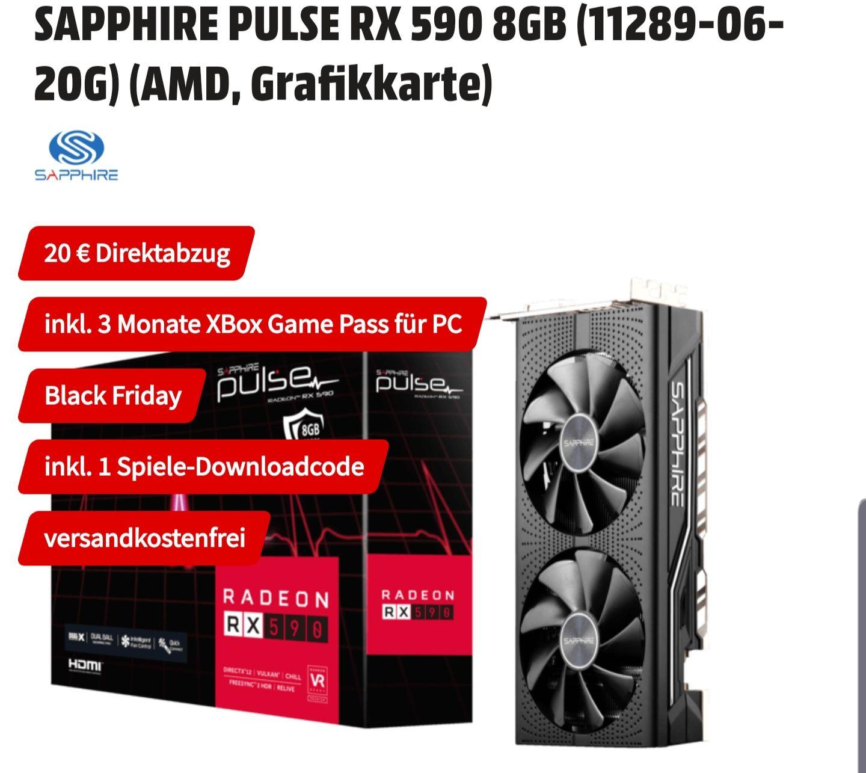 SAPPHIRE PULSE RX 590 8GB