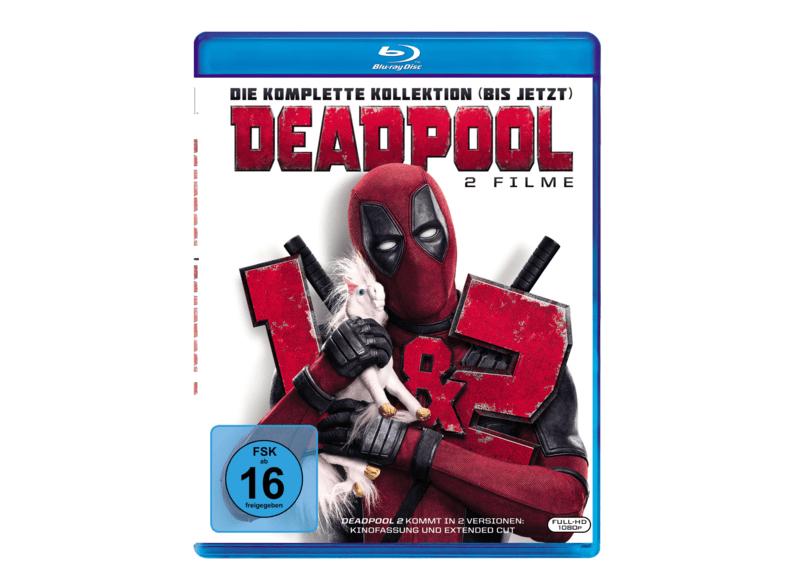 Deadpool 1 + 2 - 11,99 Euro bei MM + Amazon   4K 22,99 Euro bei MM (Bestpreise)