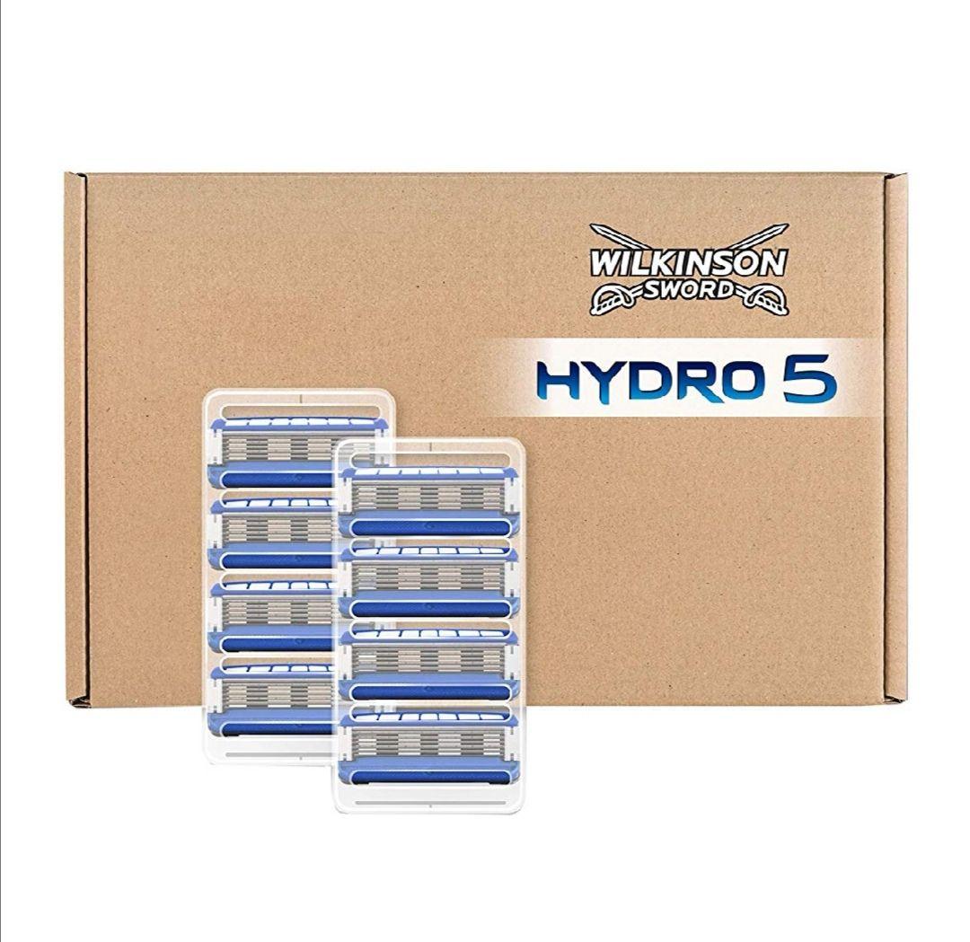 8stk. HYDRO 5 Rasierklingen von Wilkinson / Amazon