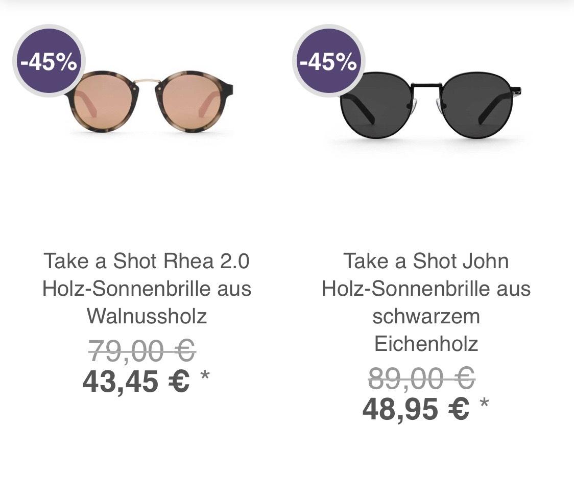 Bis zu 50% Rabatt auf Bags, Sonnenbrillen, Armbanduhr