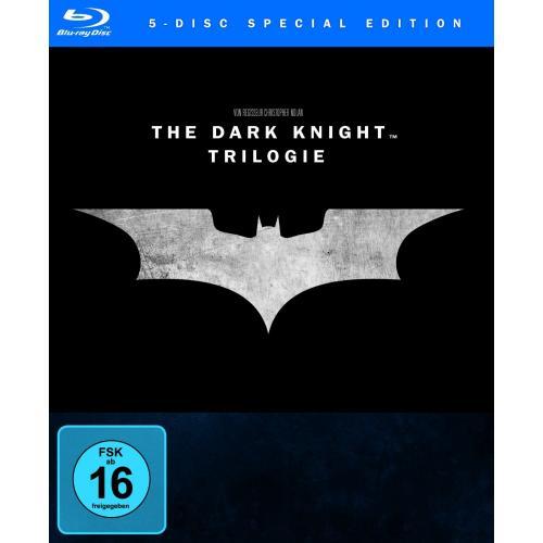 The Dark Knight Trilogy [Blu-ray] für 27,97 € @Amazon