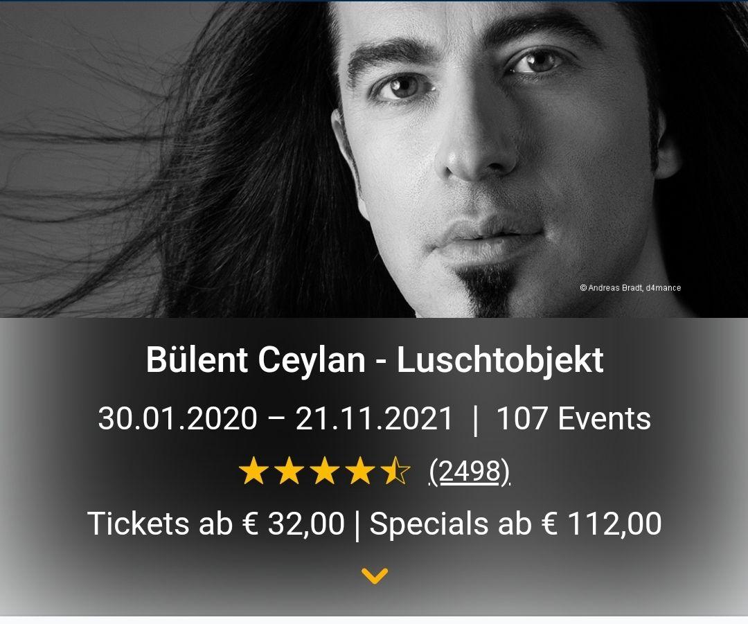 Bülent Ceylan - Luschtobjekt 25% auf alle Tickets