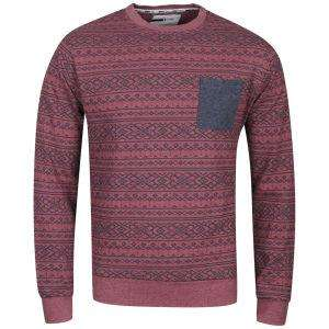 Pullover D-CODE MEN'S CLARK FLEECE - CRANBERRY MARL Thehut 7.75€ Nur Xl