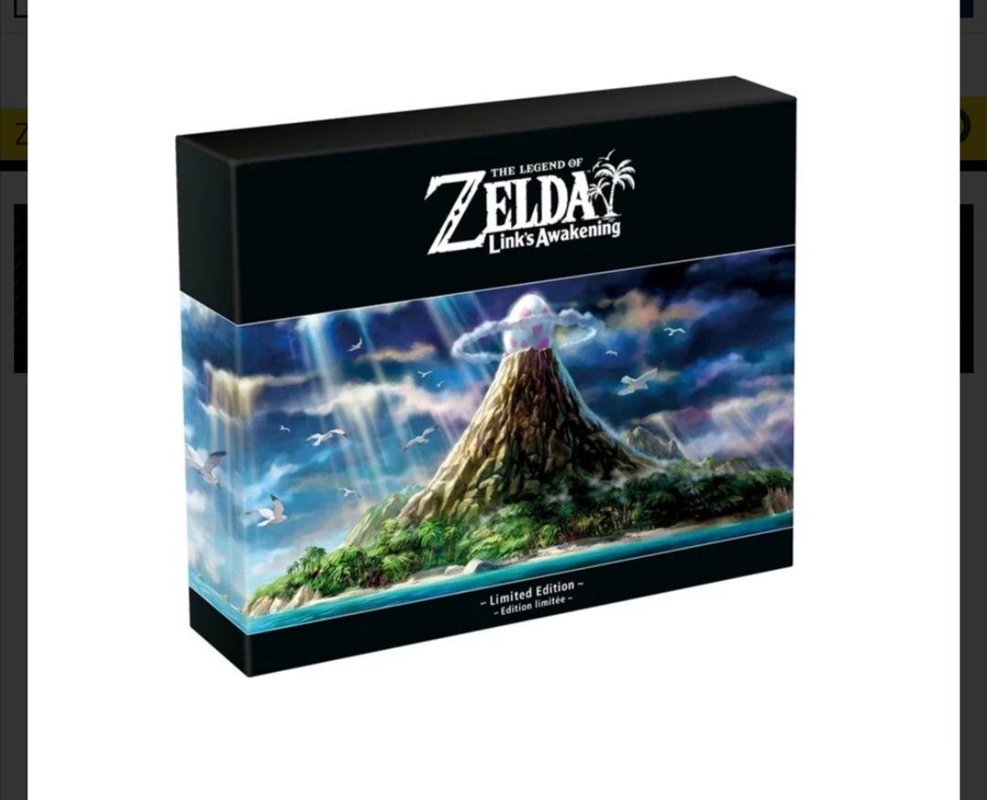 [Proshop] The Legend of Zelda: Link's Awakening - Limited Edition für 82,90€