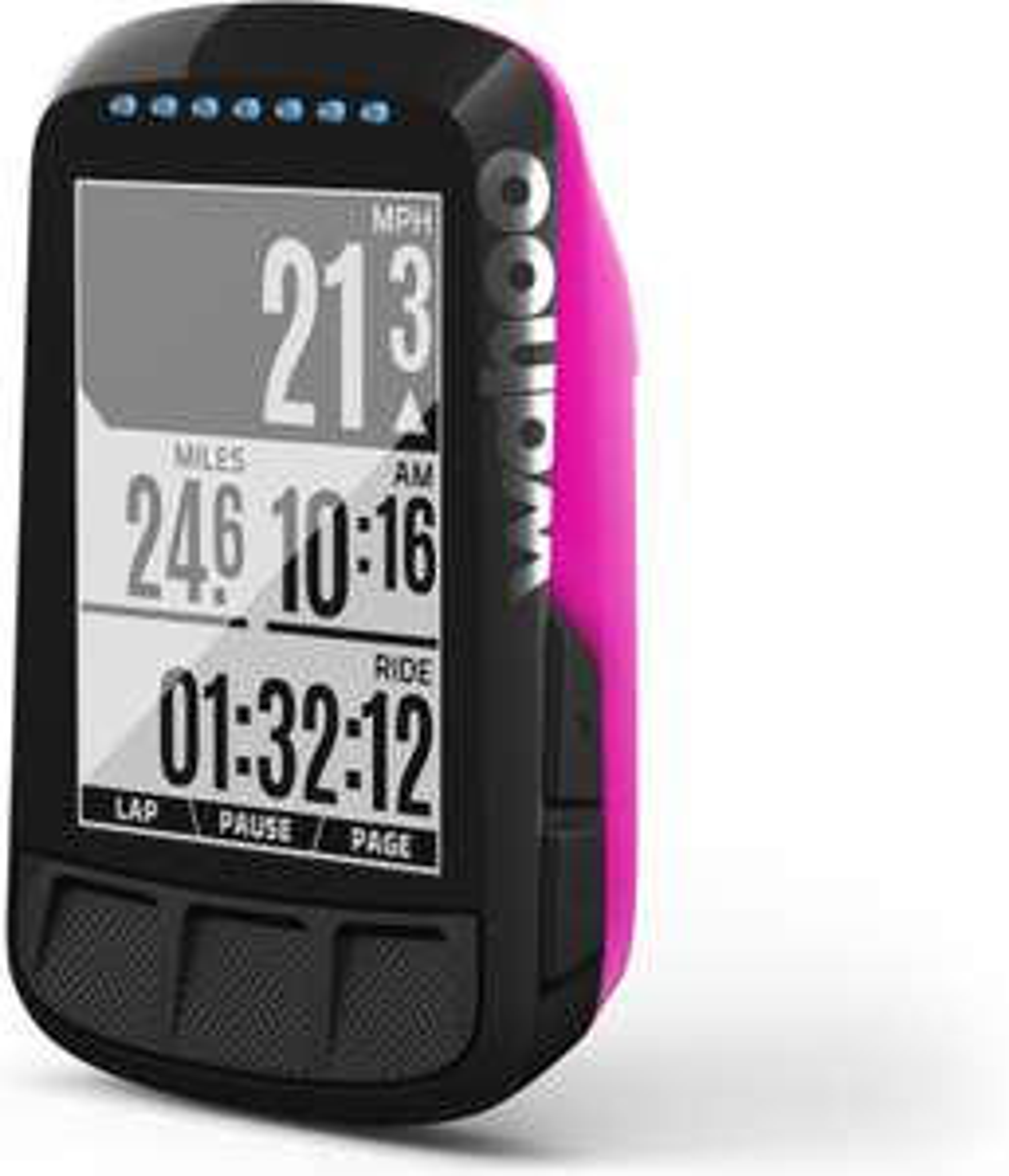 Wahoo Fitness ELEMNT Bolt GPS Fahrradcomputer pink