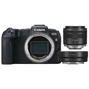 Canon EOS RP + RF 35mm f/1,8 Makro IS STM + Adapter EF-EOS R (+ 55 Euro Cashback = 1039 Euro)