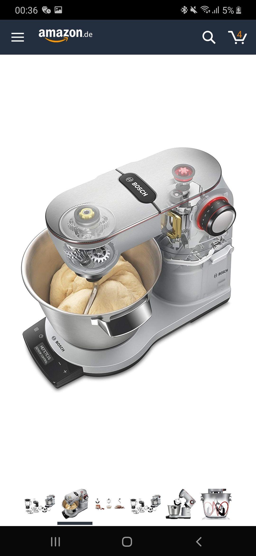 Bosch MUM9DT5S41 OptiMUM Küchenmaschine 1500