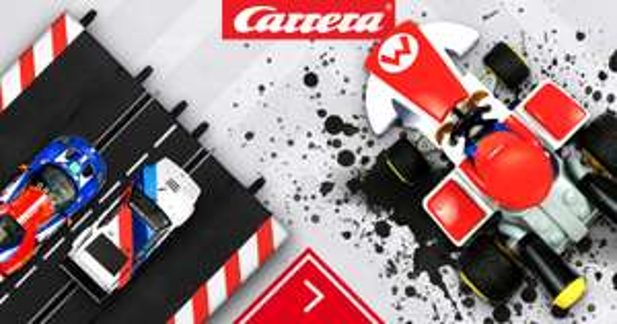 CARRERA BLACK TRACK FRIDAY SALE - 20% auf einige Artikel z.B. Carrera Digital 132 80' Flashback